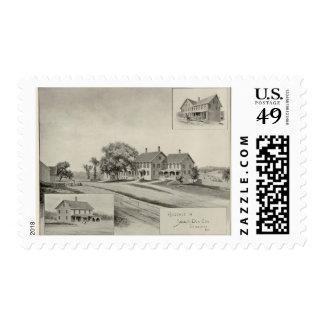 SH Dow residence Stamp