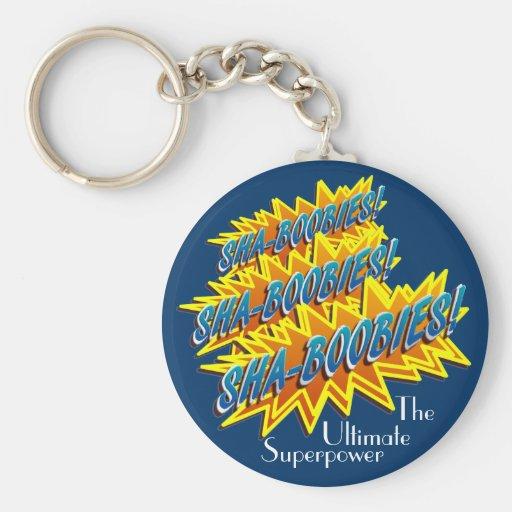 Sha-Boobies! Keychain
