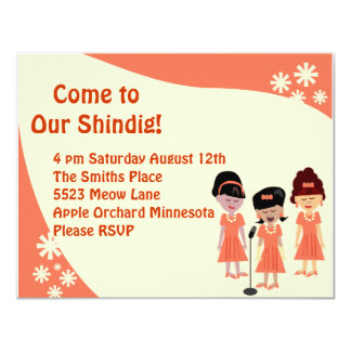 Sha La La A Girl Group Shindig Card