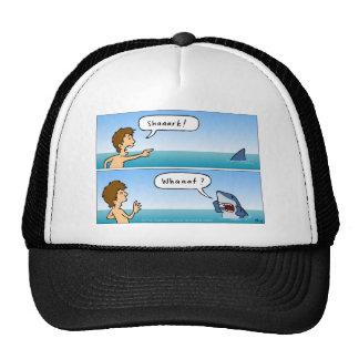 Shaaark! Whaaat? trucker cap Trucker Hat