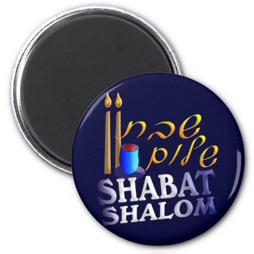 Shabat Shalom Iman De Frigorífico