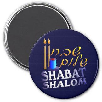 Shabat Shalom Refrigerator Magnets