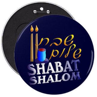 Shabat Shalom Pin