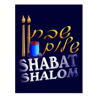 Shabat Shalom Tarjetas Postales