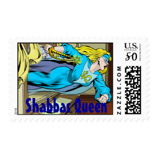 Shabbas Queen Stamps