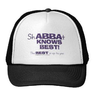 ShABBAt Abba Knows Best Trucker Hat
