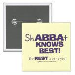 ShABBAt Abba sabe mejor Pins