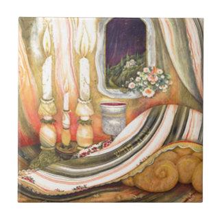 Shabbat Azulejos Cerámicos
