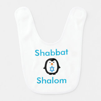SHABBAT BIB FOR BABY SO CUTE