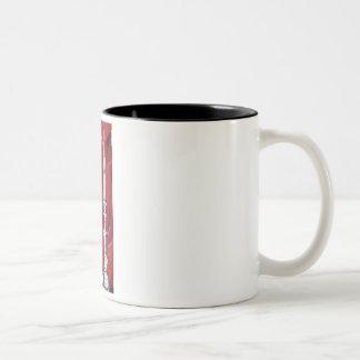 Shabbat Candles Two-Tone Coffee Mug