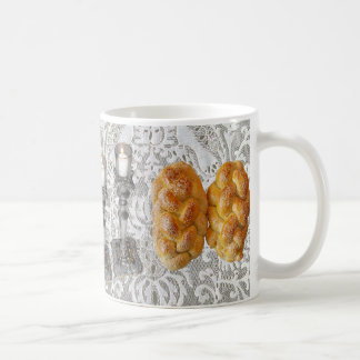 Shabbat Challah & Lights Coffee Mug