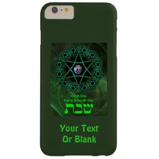 Shabbat - Earth Day Barely There iPhone 6 Plus Case