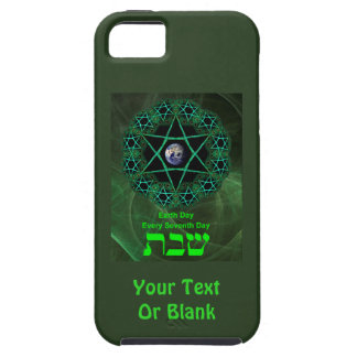 Shabbat - Earth Day iPhone 5 Covers