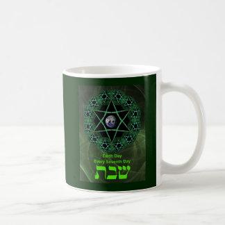 Shabbat - Earth Day Coffee Mug