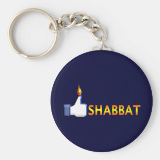 Shabbat Llavero Redondo Tipo Pin