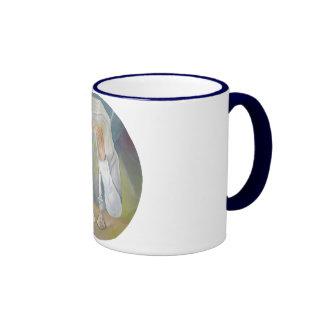 Shabbat Ringer Coffee Mug