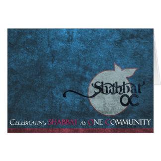 Shabbat OC card