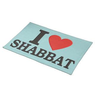 Shabbat Placemat Mantel