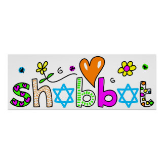 Shabbat Poster