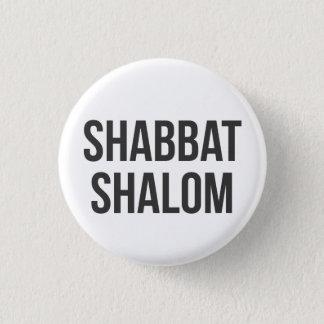 Shabbat Shalom Button