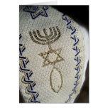 Shabbat Shalom Jewish Tallit Greeting Card Custom