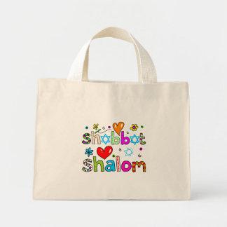 Shabbat, Shalom Mini Tote Bag