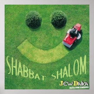 Shabbat Shalom Póster
