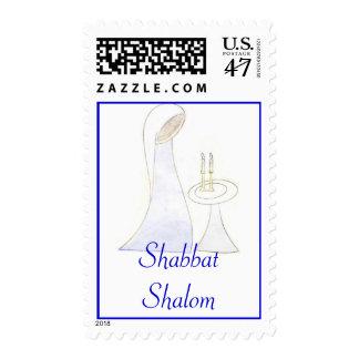 Shabbat Shalom stamp