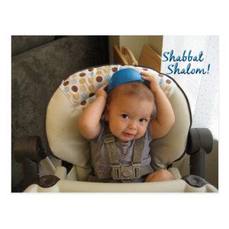 ¡Shabbat Shalom Tarjeta Postal