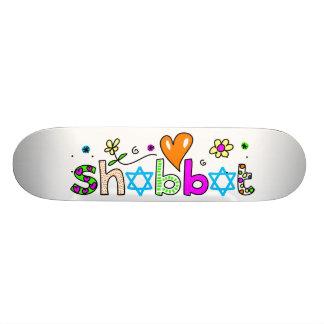 Shabbat Skateboard Deck