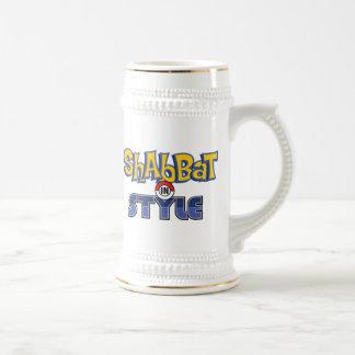 Shabbat Style Beer Stein
