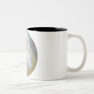 Shabbat Two-Tone Coffee Mug