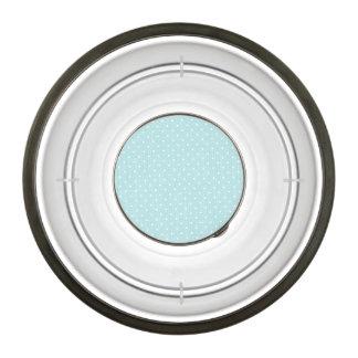 shabby baby blue,fabric,white,polka dot,trendy,mod bowl