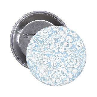 Shabby Blue French Toile Pins