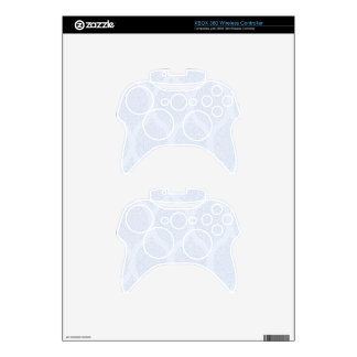 Shabby Blue French Toile Xbox 360 Controller Decal