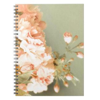 Shabby Blush Notebook