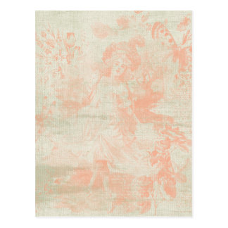 Shabby Blush Postcard