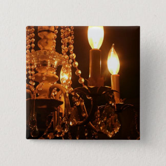 Shabby Chandelier Bling 2-Gold Sq PIN