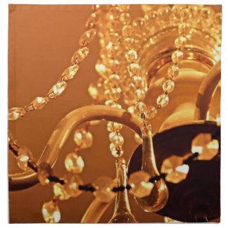 Shabby-Chandelier-Bling-3-Gold-DINNER NAPKINS