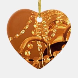 Shabby-Chandelier-Bling-3-Gold-HEART ORNAMENT