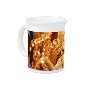 Shabby-Chandelier-Bling-4-Gold-DRINK PITCHER