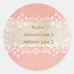 Shabby Chic Address Labels at Zazzle
