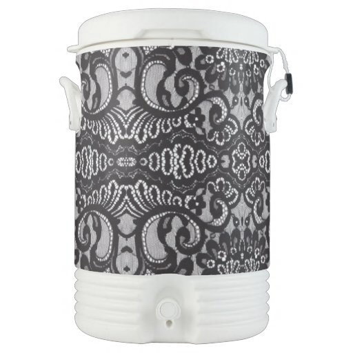 Shabby chic bohemian girly pattern vintage lace igloo - Igloo vintage ...