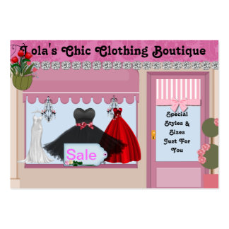 SHABBY Chic  Boutique Business Cards