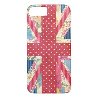 Shabby Chic   British Flag iPhone 8/7 Case