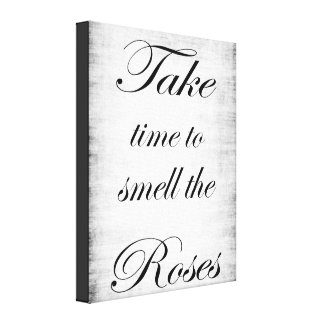 Shabby Chic Canvas Stretched Canvas Print