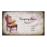 Shabby Chic Chair Business Card