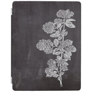 shabby chic chalkboard floral french country iPad cover