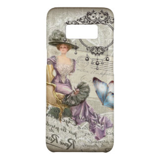 shabby chic chandelier Vintage victorian lady Case-Mate Samsung Galaxy S8 Case