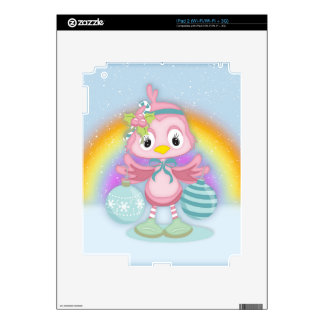 Shabby Chic, Christmas Vinyl Device Protection Skins For The iPad 2